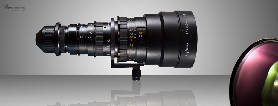 angenieux 25-250 hr t3.5